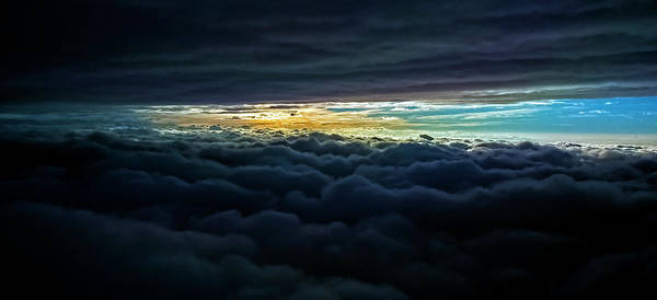 Photograph - The V'ger Cloud 2012 by Greg Reed