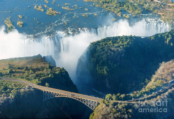 Chopper Photograph - The Victoria Falls Is The Largest by Vadim Petrakov