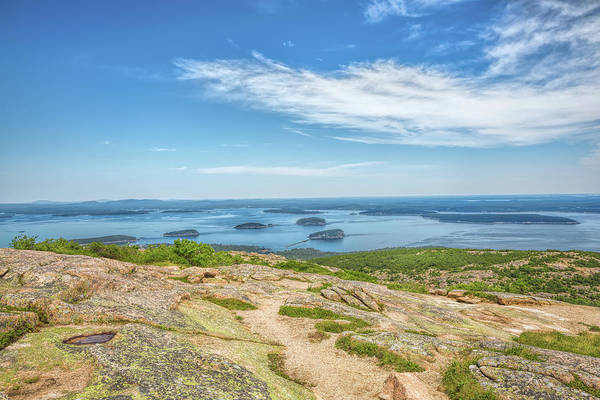 Photograph - The View From Cadillac Mountain by John M Bailey
