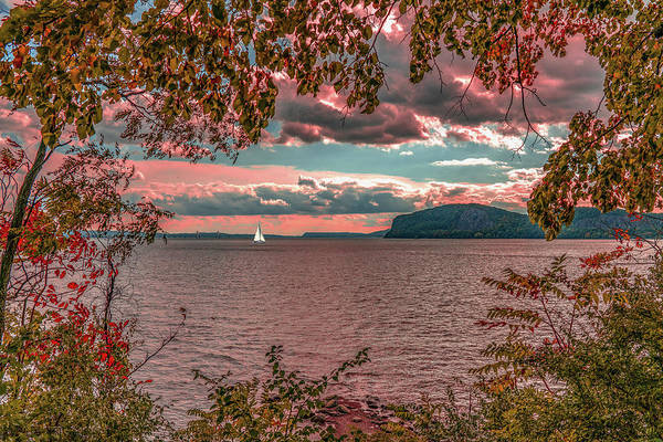 Photograph - The View From Croton Point by Chris Lord