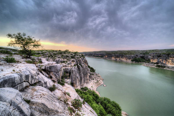 Photograph - The View From The Pecos River Bridge by JC Findley