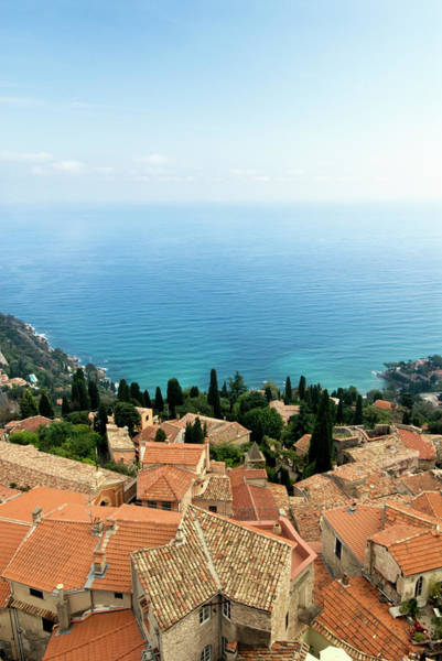 French Riviera Photograph - The Village Of Roquebrune Cap Martin by Banana Pancake