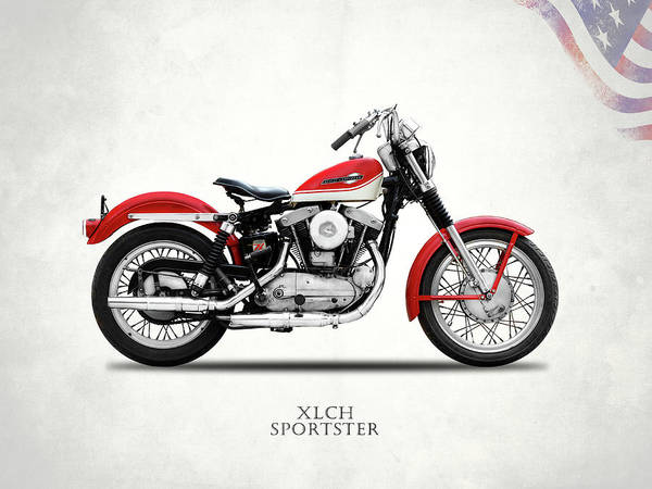 Wall Art - Photograph - The Vintage Sportster Motorcycle by Mark Rogan