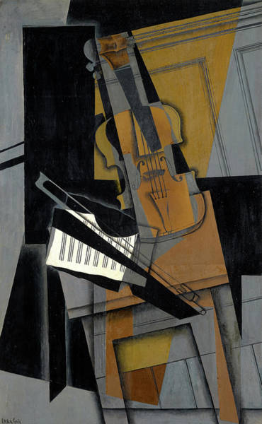 Wall Art - Painting - The Violin by Juan Gris