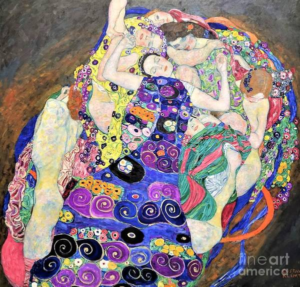 0 Painting - The Virgin by Reproduction