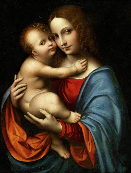 Wall Art - Painting - The Virgin With Child by Giampietrino