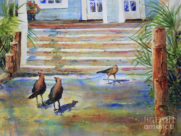 Wall Art - Painting - The Visitors by Marsha Reeves