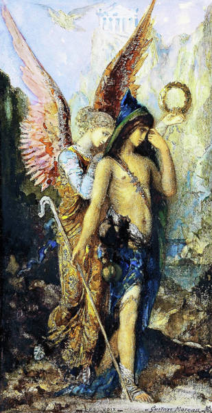 Wall Art - Painting - The Voices - Digital Remastered Edition by Gustave Moreau