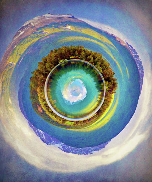 Mother Earth Digital Art - The Vortex by Tara Turner