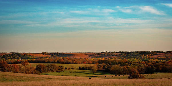 Photograph - The Wakarusa River Valley by Jeff Phillippi