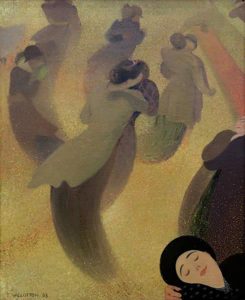 Wall Art - Painting - The Waltz, 1893 by Felix Vallotton