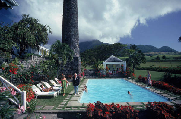 St Kitts Photograph - The Walwyns At Home by Slim Aarons