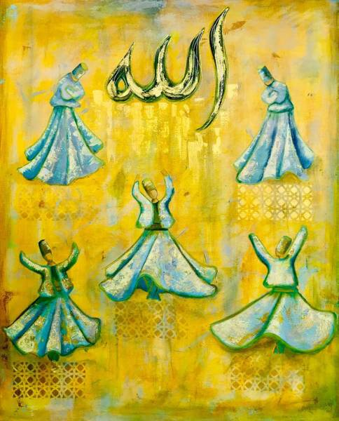 Wall Art - Painting - The Warmth Of Your Grace by Mariam C