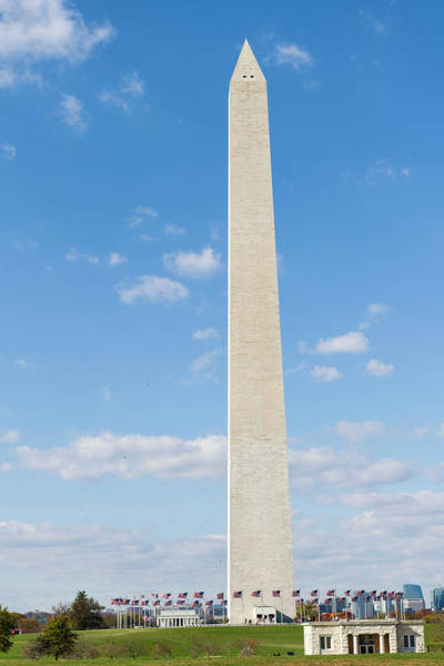 Wall Art - Photograph - The Washington Monument On The National by Panoramic Images