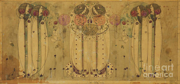 Wall Art - Painting - The Wassail, 1900 by Charles Rennie Mackintosh
