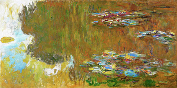 Wall Art - Painting - The Water Lily Pond - Digital Remastered Edition by Claude Monet