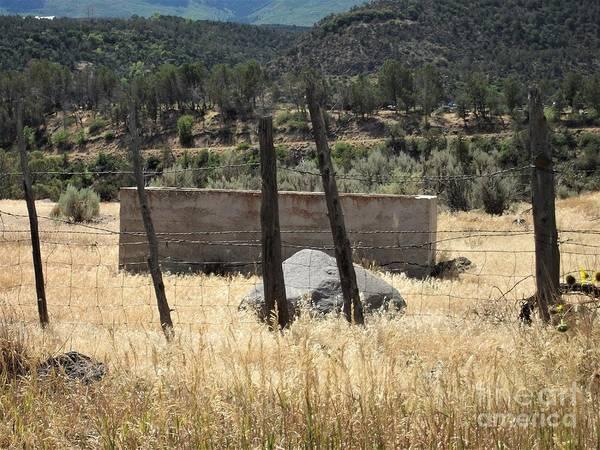 Photograph - The Watering Tank by Tammie J Jordan