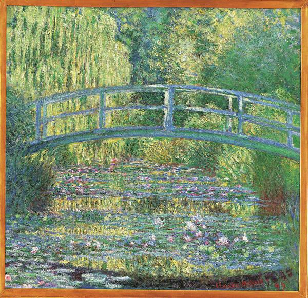 Painting - The Waterlily Pond Green Harmony, By by Mondadori Portfolio