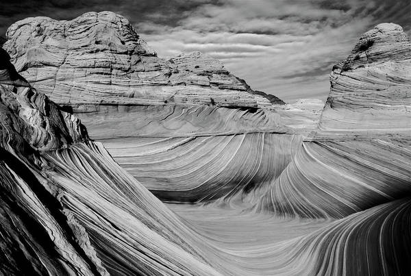 Photograph - The Wave Wilderness by Ed  Riche