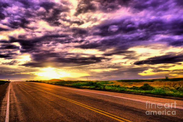 Wall Art - Photograph - The Way A Road Inspires by Jeff Swan