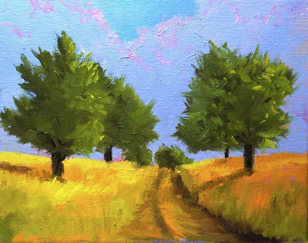 Wall Art - Painting - The Way Home by Nancy Merkle
