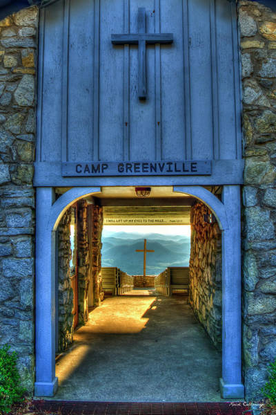 Wall Art - Photograph - The Way Pretty Place Chapel Camp Greenville South Caroline Art by Reid Callaway