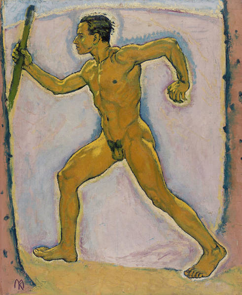 Painting - The Wayfarer by Koloman Moser
