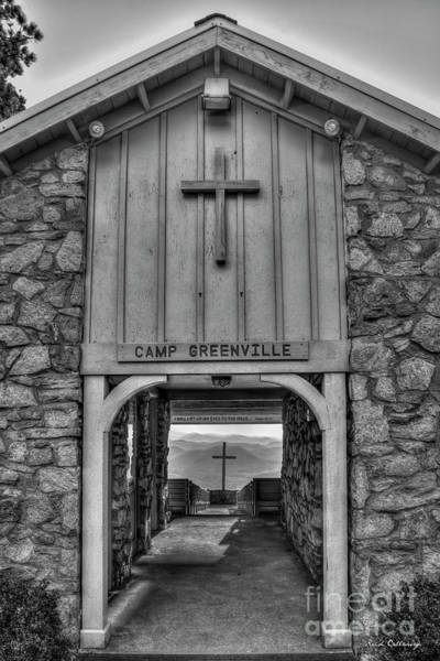 Wall Art - Photograph - The Waymaker B W Pretty Place Chapel Camp Greenville South Caroline Art by Reid Callaway