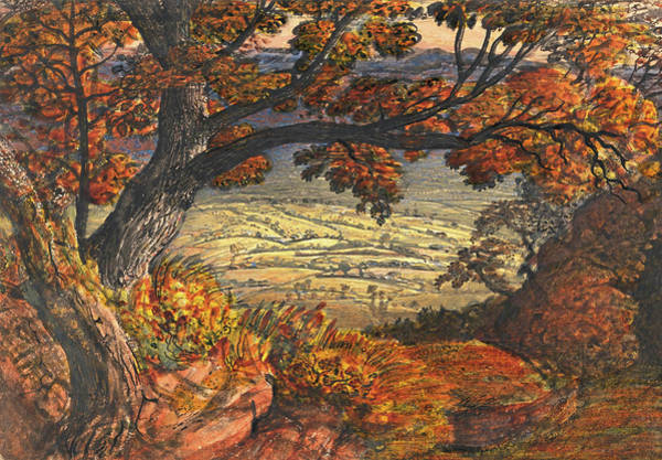 Wall Art - Painting - The Weald Of Kent - Digital Remastered Edition by Samuel Palmer