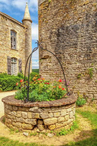 Wall Art - Photograph - The Well Of The Chateau De Bruniquel by W Chris Fooshee
