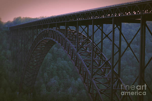 Wall Art - Photograph - The West Virginia Skybridge At Sunset by Blair Bauer
