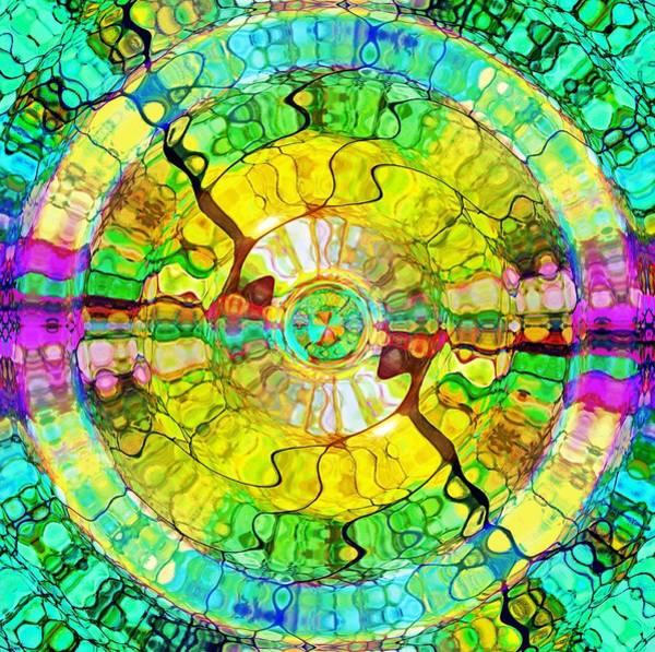 Digital Art - The Wheel Of Happiness by Tara Turner