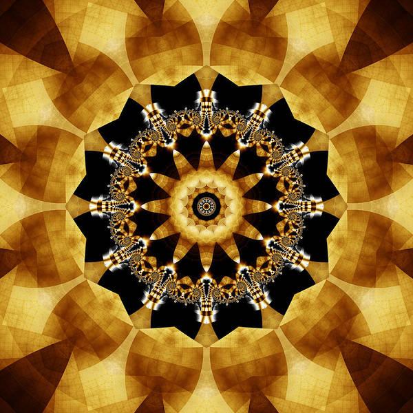 Algorithm Digital Art - The Wheel Of Time by Jipsi Immanuelle