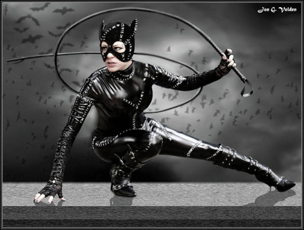 Photograph - The Whip Of The Cat Woman by Jon Volden