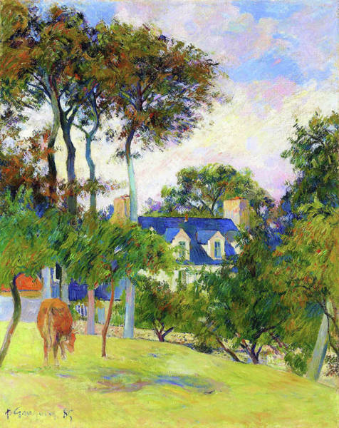 Wall Art - Painting - The White House - Digital Remastered Edition by Paul Gauguin