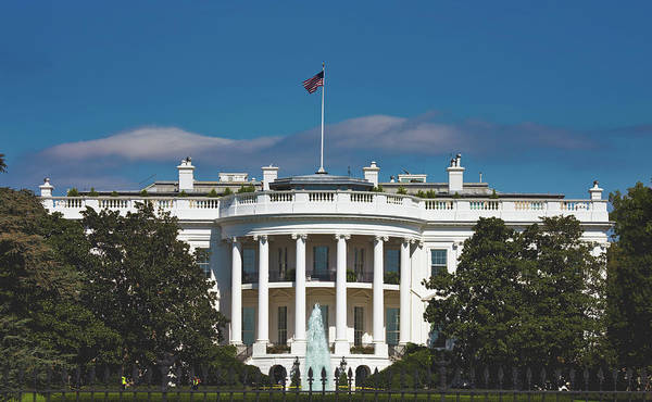 Wall Art - Photograph - The White House by Mountain Dreams