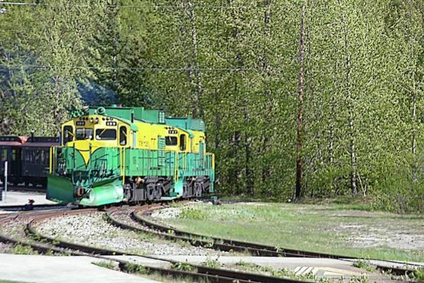 Wall Art - Photograph - The White Pass Railway 3 by John Hughes