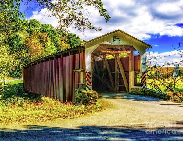 Photograph - The White Rock Forge Covered Bridge by Nick Zelinsky
