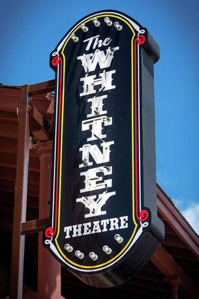 Photograph - The Whitney In Albany, Texas by Harriet Feagin