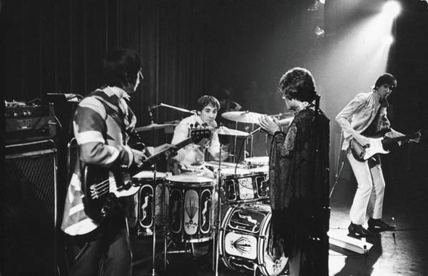 Recording Photograph - The Who At The Fillmore East by Fred W. McDarrah