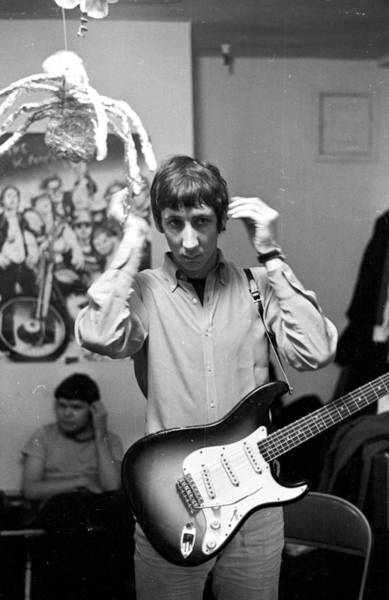 Photograph - The Who At The Murray The K Show by Michael Ochs Archives