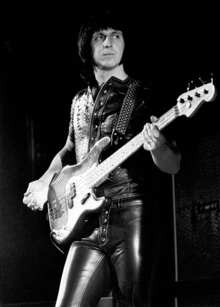 Photograph - The Who Bassist Performing by Tom Copi