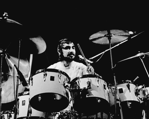 Photograph - The Who Drummer Performing by Larry Hulst