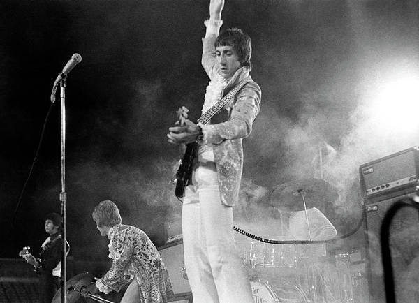Photograph - The Who Perform In Flint For Keiths 20th by Michael Ochs Archives