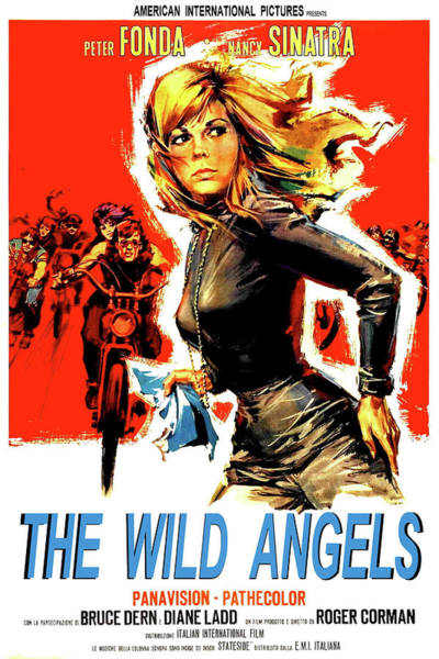 the Wild Angles, Peter Fonda, Nancy Sinatra, Bruce Dern, Diane Ladd Art Print