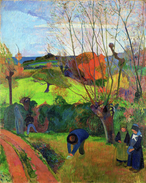 Wall Art - Painting - The Willow Tree - Digital Remastered Edition by Paul Gauguin