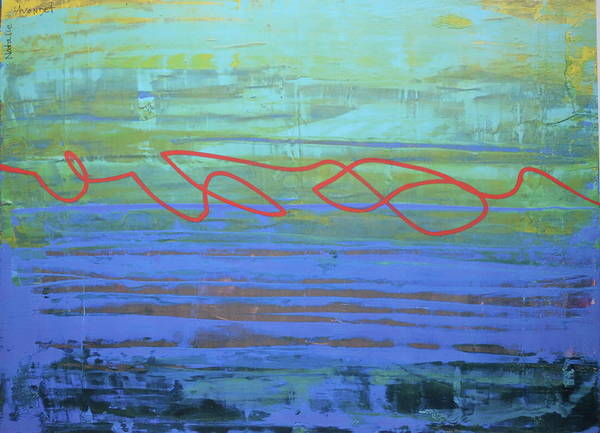 Avondet Wall Art - Digital Art - The Winding Path by Natalie Avondet