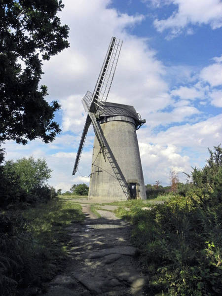 Photograph - The Wirral. The Windmill On Bidston Hill. by Lachlan Main