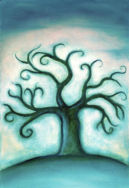 Dark Shadows Digital Art - The Wistful Tree by Bphillips