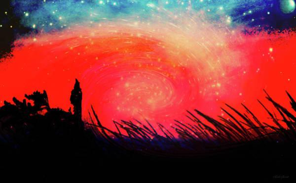 Wall Art - Digital Art - The Wizard by Linda Sannuti